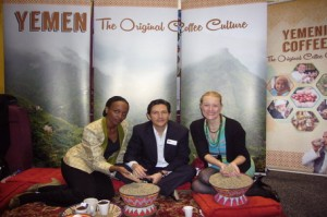 Coffee Friends Promoting Yemen at 2013 SCAA in Boston
