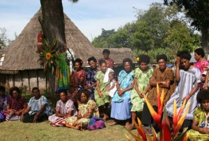 Coffee Women at Aipos Community in Papua New Guinea