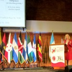 Maja Wallengren Speaking In Guatemala