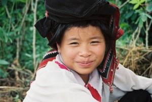 Tribal Coffee Picker In Northern Vietnam