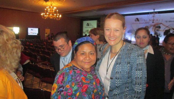 Meeting Guatemala's Rigoberta Menchu