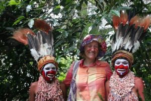 With Tribal Coffee Community in Paupa New Guinea