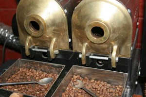Freshly Roasted Coffee Antique Style