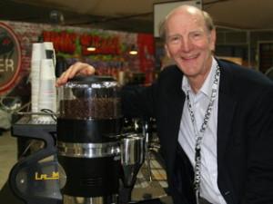 Espresso King Kent Bakke at La Marzocco