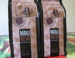 Tahiti Coffee Manu Reva From Rurutu