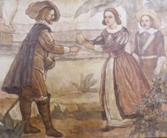 tela pintada Francisco Palheta